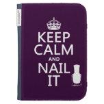 Guarde la calma y clávela (el esmalte de uñas)