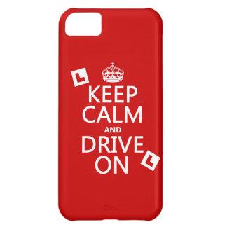 Guarde la calma y conduzca en (principiante) (cual