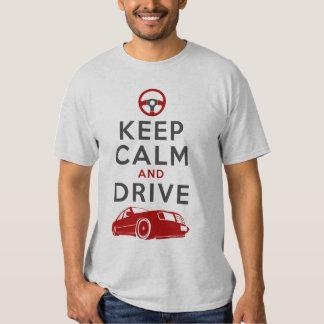 Guarde la calma y conduzca - W124- Camisas