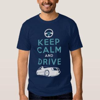 Guarde la calma y conduzca - W124- /version2 Polera