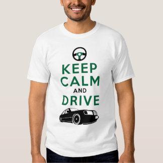 Guarde la calma y conduzca - W124- /version3 Poleras
