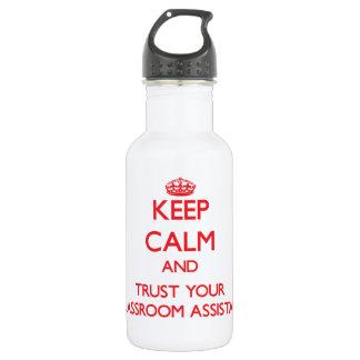 Guarde la calma y confíe en a su ayudante de la