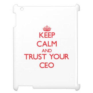 Guarde la calma y confíe en a su CEO