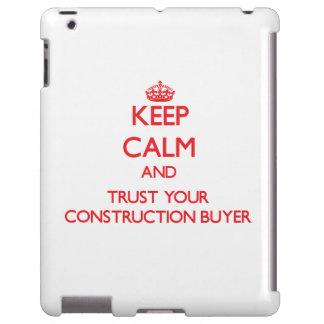 Guarde la calma y confíe en a su comprador de la c