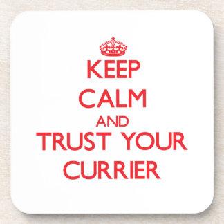 Guarde la calma y confíe en a su curtidor