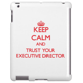 Guarde la calma y confíe en a su director ejecutiv