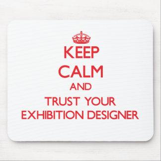 Guarde la calma y confíe en a su diseñador de la e