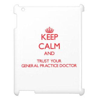 Guarde la calma y confíe en a su doctor de la prác