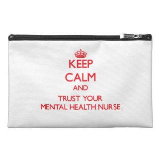 Guarde la calma y confíe en a su enfermera de salu