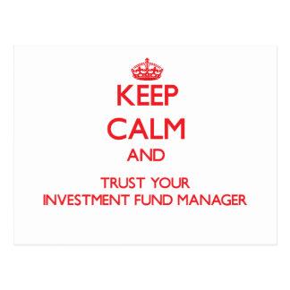 Guarde la calma y confíe en a su gestor de fondos