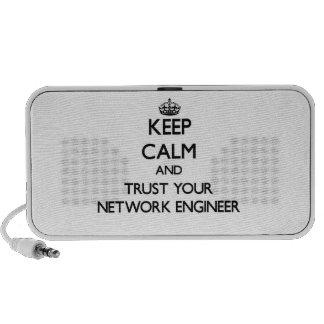 Guarde la calma y confíe en a su ingeniero de la r sistema altavoz