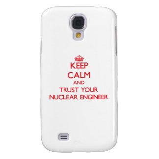 Guarde la calma y confíe en a su ingeniero nuclear