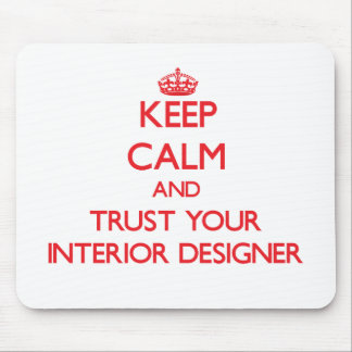 Guarde la calma y confíe en a su interiorista