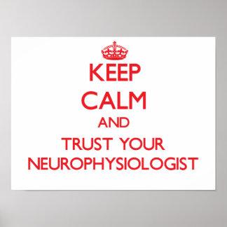 Guarde la calma y confíe en a su neurofisiólogo