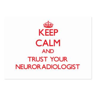 Guarde la calma y confíe en a su neuroradiólogo