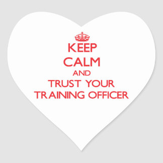 Guarde la calma y confíe en a su oficial del entre