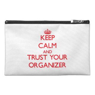 Guarde la calma y confíe en a su organizador