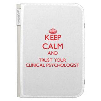 Guarde la calma y confíe en a su psicólogo clínico