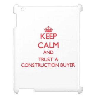 Guarde la calma y confíe en a un comprador de la c