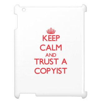 Guarde la calma y confíe en a un Copyist
