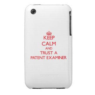 Guarde la calma y confíe en a un examinador de la Case-Mate iPhone 3 cárcasa