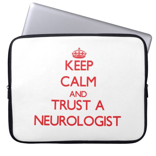 Guarde la calma y confíe en a un neurólogo manga portátil
