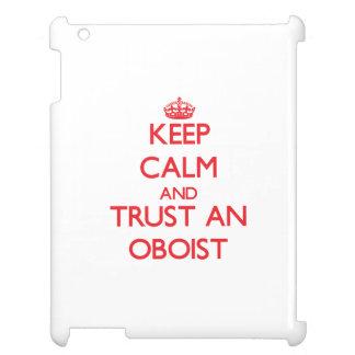 Guarde la calma y confíe en a un oboe
