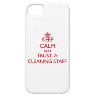 Guarde la calma y confíe en a un personal de iPhone 5 carcasas