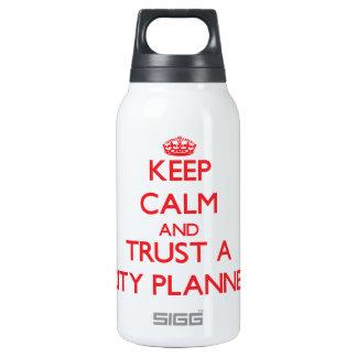 Guarde la calma y confíe en a un planificador de