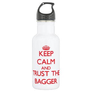 Guarde la calma y confíe en al Bagger