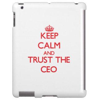 Guarde la calma y confíe en al CEO