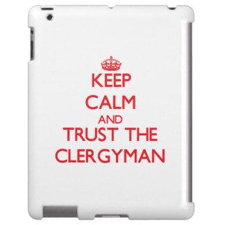 Guarde la calma y confíe en al clérigo