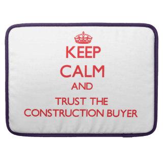 Guarde la calma y confíe en al comprador de la con fundas para macbook pro