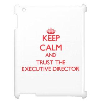 Guarde la calma y confíe en al director ejecutivo