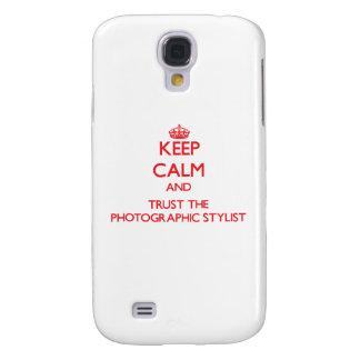 Guarde la calma y confíe en al estilista fotográfi