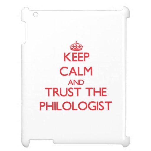 Guarde la calma y confíe en al filólogo