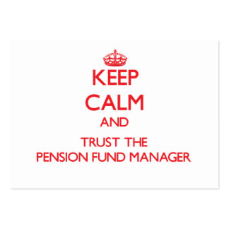 Guarde la calma y confíe en al gestor de fondos de tarjeta de negocio