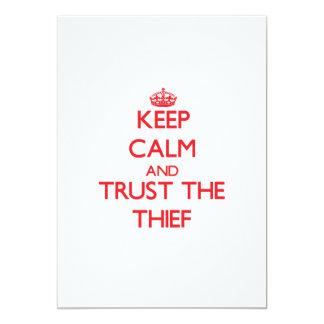 Guarde la calma y confíe en al ladrón anuncios personalizados