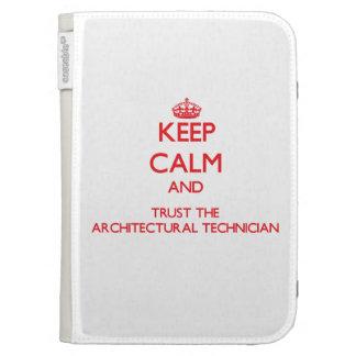 Guarde la calma y confíe en al técnico arquitectón