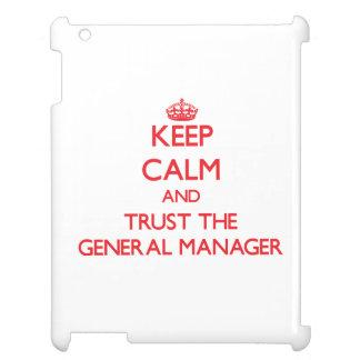 Guarde la calma y confíe en director general