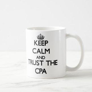 Guarde la calma y confíe en el Cpa