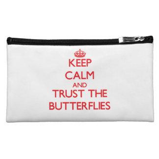 Guarde la calma y confíe en las mariposas