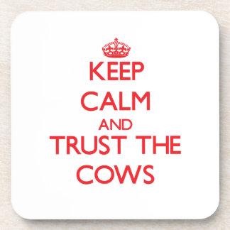 Guarde la calma y confíe en las vacas