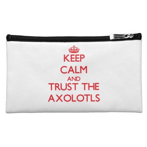 Guarde la calma y confíe en los Axolotls