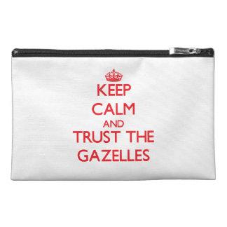 Guarde la calma y confíe en los Gazelles
