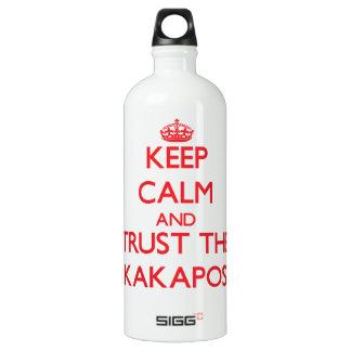 Guarde la calma y confíe en los Kakapos