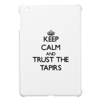 Guarde la calma y confíe en los Tapirs