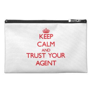 Guarde la calma y confíe en su agente