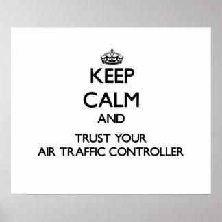 Guarde la calma y confíe en su controlador aéreo