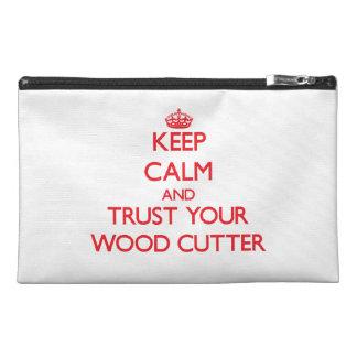 Guarde la calma y confíe en su cortador de madera